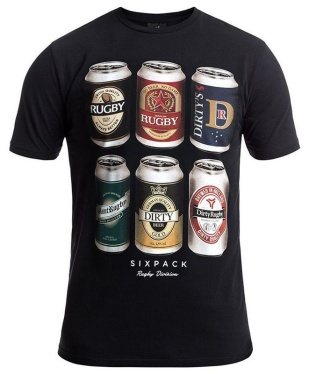 "Rugby Division - T-Shirt ""Sixpack"""