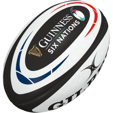 Gilbert Rugby Ball - Guinness 6 Nations Replika (Gr. 5)