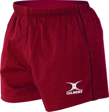 Gilbert Rugby Short - Match - Red