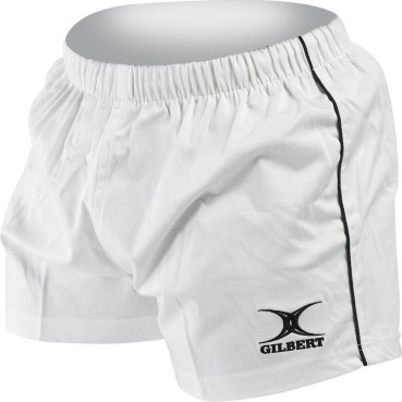 Gilbert Rugby Short - Match - White