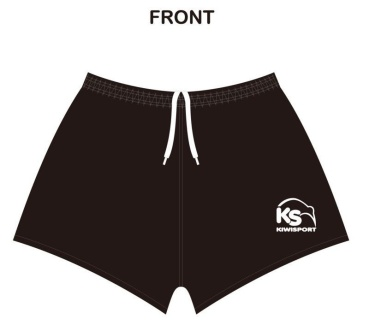 Kiwisport Rugby Short - Black
