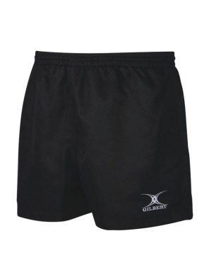 Gilbert Rugby Short - Saracen - Black