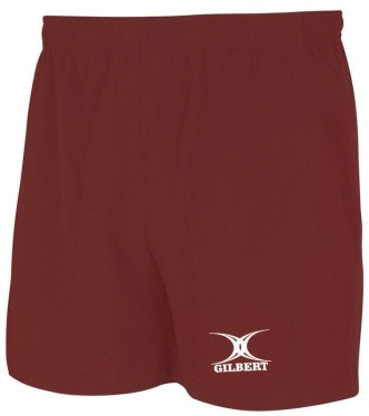 Gilbert Rugby Short - Saracen - Red