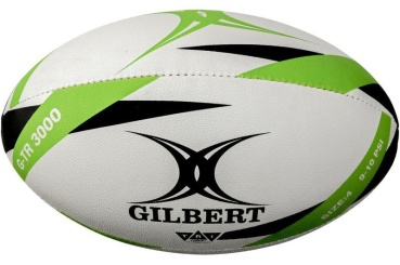 Gilbert Rugby Ball - G-TR3000 Gr. 4 Green