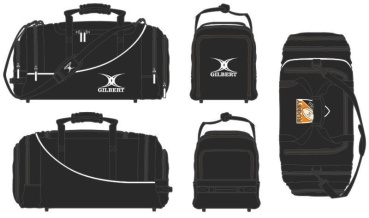 Gilbert Rugby Tasche - Club Player Holdall V2 Black (Gröbenzell)