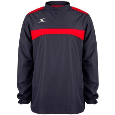 Gilbert Photon Warm Up Top - Navy/Red