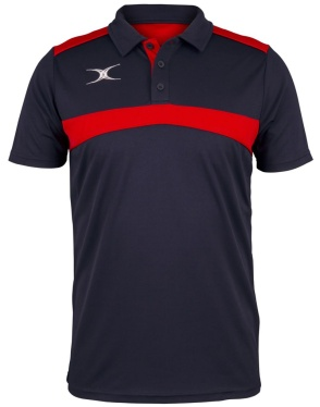 Gilbert Photon Polo - Navy/Red
