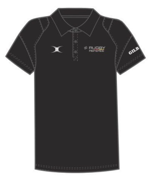 Gilbert Action Polo - Black (SDRV)
