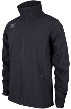 Gilbert Pro Soft Shell Full Zip Jacket - Black