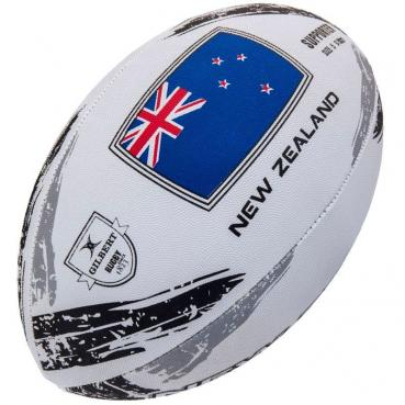 Gilbert Rugby Ball - New Zealand Supporter (Gr. 5)