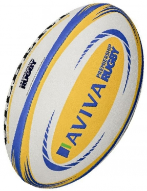 Gilbert Rugby Ball - Aviva Premiership Replika (Gr. 5)