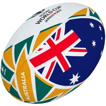 Gilbert Rugby Ball - World Cup 2019 Flag Australien (Gr. 5)