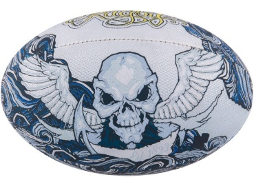 Gilbert Rugby Ball - Supporter Tattoo (Gr. 5)