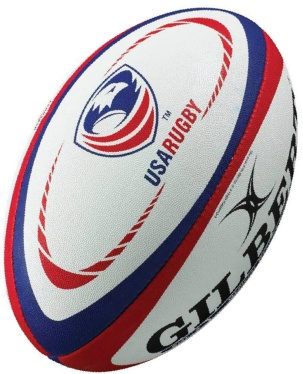 Gilbert Rugby Ball - USA Replika (Gr. 5)