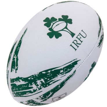 Gilbert Rugby Ball - Irland Supporter (Gr. 5)