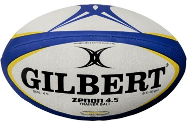 Gilbert Rugby Ball - Zenon - Blue/Red (Woman)