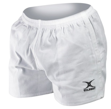 Gilbert Rugby Short - Kiwi Pro - White