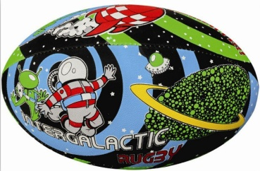 Gilbert Rugby Ball - Supporter Space Wham (Gr. 5)