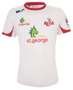 Rugby Warm up T-Shirt - Queensland Reds 2015