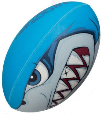 Gilbert Rugby Ball - Supporter Bite Force (Gr. 5)