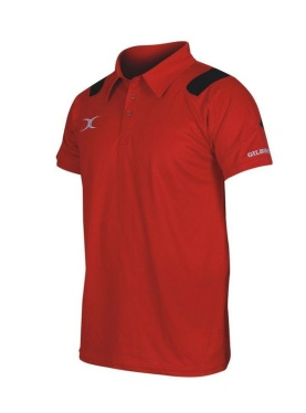 Gilbert Vapour Polo - Red/Black