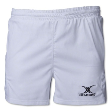 Gilbert Rugby Short - Virtuo -weiß
