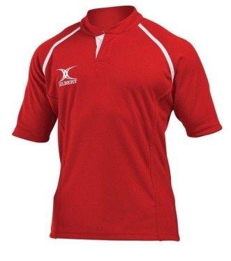 Gilbert Rugby Trikot - Xact - Red