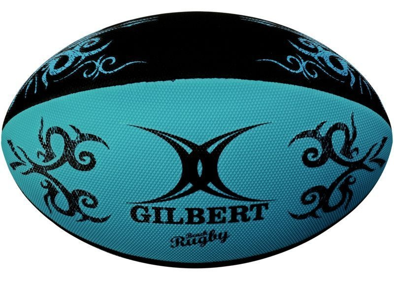 Gilbert Rugby Ball - Beach Blue
