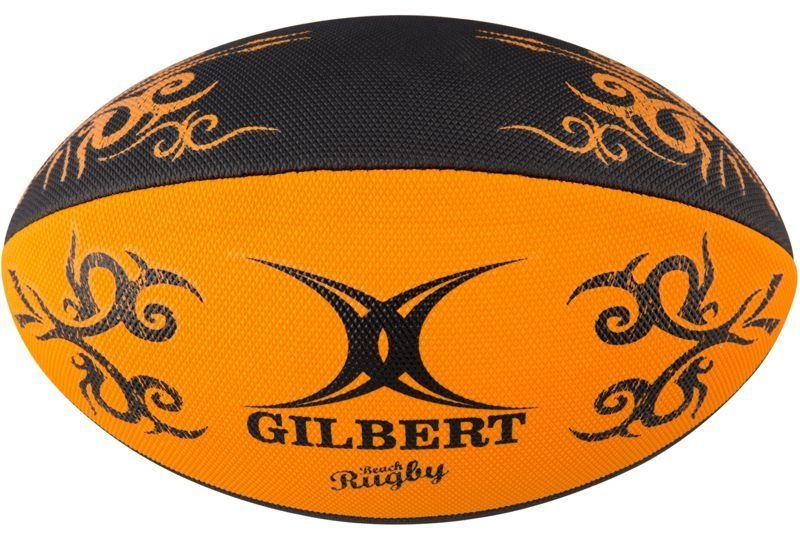 Gilbert Rugby Ball - Beach Orange