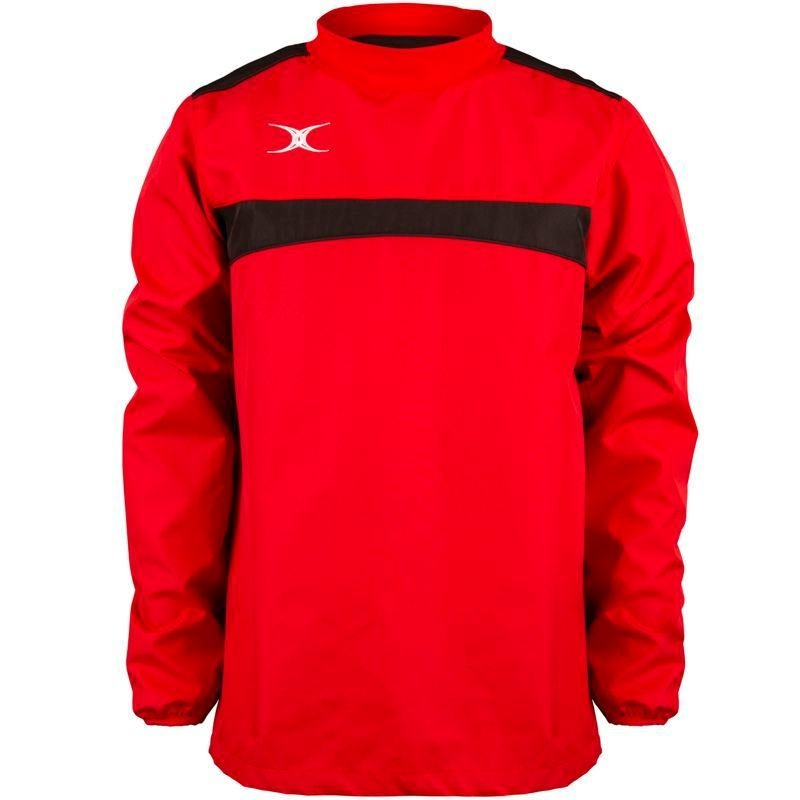Gilbert Photon Warm Up Top - Red/Black