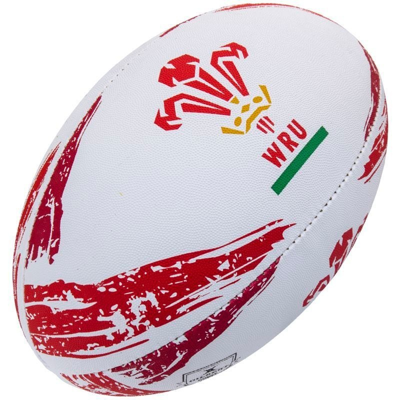 Gilbert Rugby Ball - Wales Supporter (Gr. 5)
