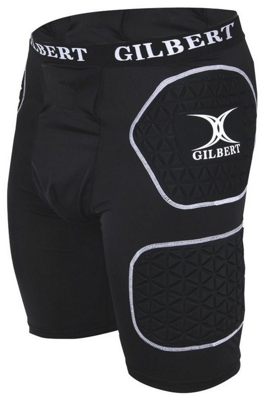 Gilbert Rugby - Protective Short - Black