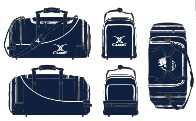 Gilbert Rugby Tasche - Club Player Holdall V2 - SV ODIN