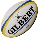Gilbert Rugby Ball - Photon - Blue/Yellow Gr. 4.5